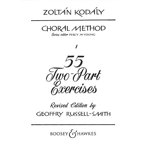 Boosey and Hawkes 55 Two-Part Exercises 2-Part Composed by Zoltán Kodály-thumbnail