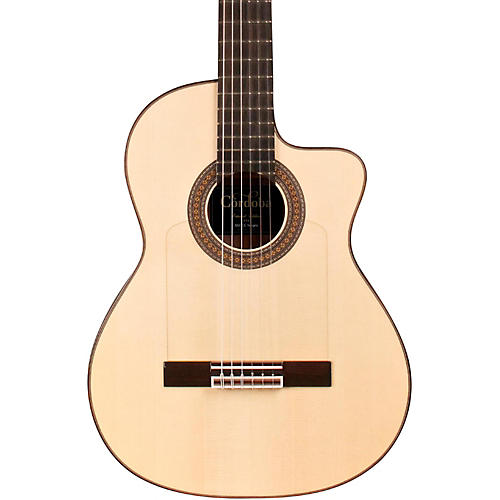Cordoba 55FCE Thinbody Limited Flamenco Acoustic-Electric Guitar-thumbnail