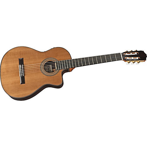 Cordoba 55RCE Thinbody Nylon String Acoustic-Electric Guitar