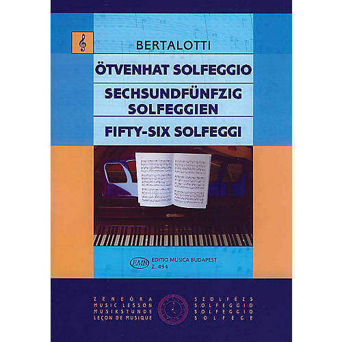Editio Musica Budapest 56 Solfeggi-thumbnail