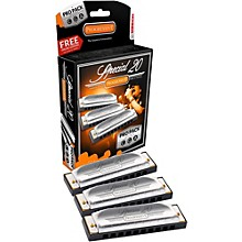 Hohner 560 Special 20 Harmonica Pro Pack