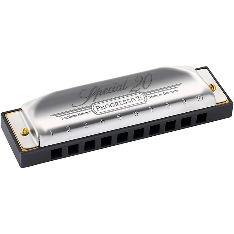 Hohner 560 Special 20 Harmonica with Country Tuning F