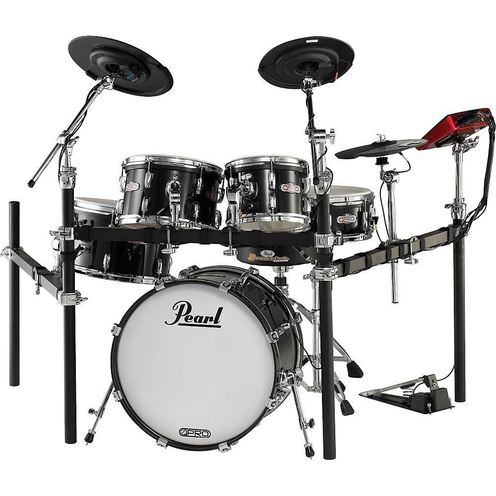 White Drum Set Drum Set Black 560076 001
