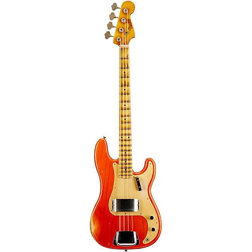 Fender Custom Shop '57 Precision Bass Relic Masterbuilt by John Cruz Transparent Gretsch Orange