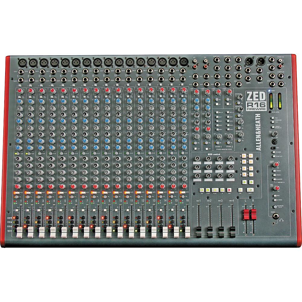 allen heath zed12 fx usb 12 channel mixer