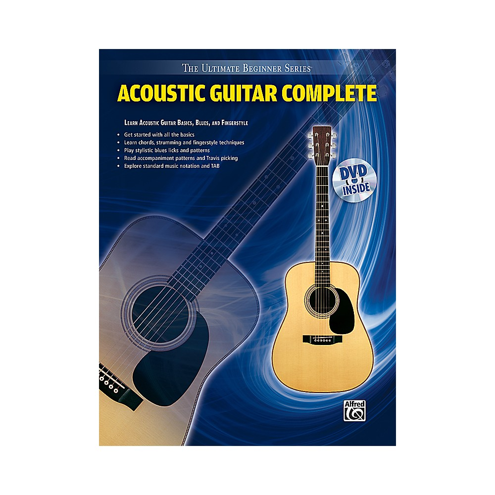 instruction books cds videos alfred ultimate beginner series acoustic guitar complete. Black Bedroom Furniture Sets. Home Design Ideas