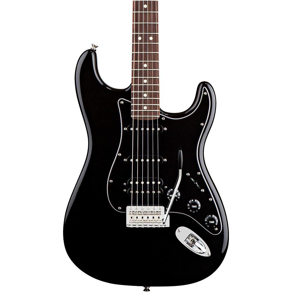 fender american special hss stratocaster electric guitar black ebay. Black Bedroom Furniture Sets. Home Design Ideas