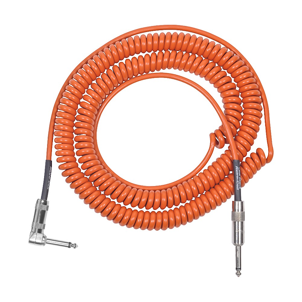 Lava Retro Coil 20 Ft. Instrument Cable Straight To Right Angle