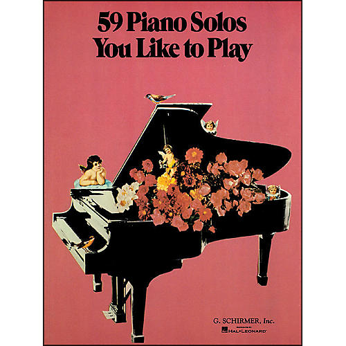 G. Schirmer 59 Piano Solos You Like To Play-thumbnail