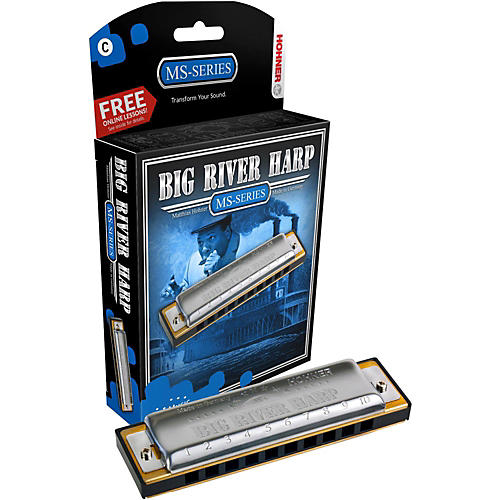 Hohner 590 Big River MS-Series Harmonica Bb