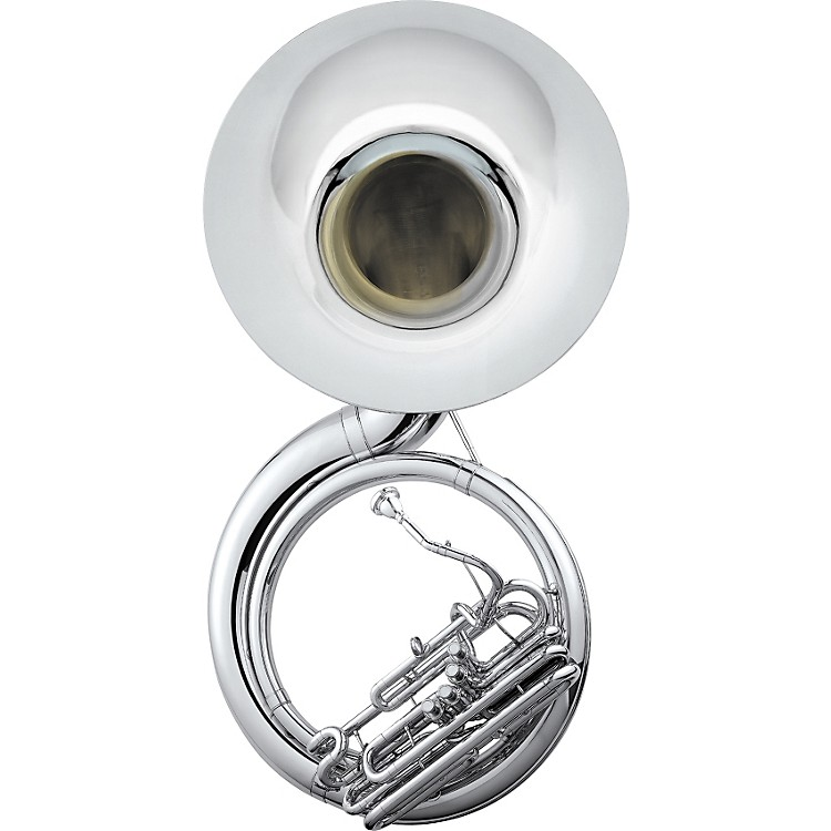 Jupiter 590 University Quad Series Brass 4-Valve BBb Sousaphone