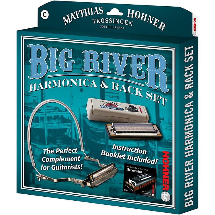 Hohner590X Big River Harmonica Instruction PackC
