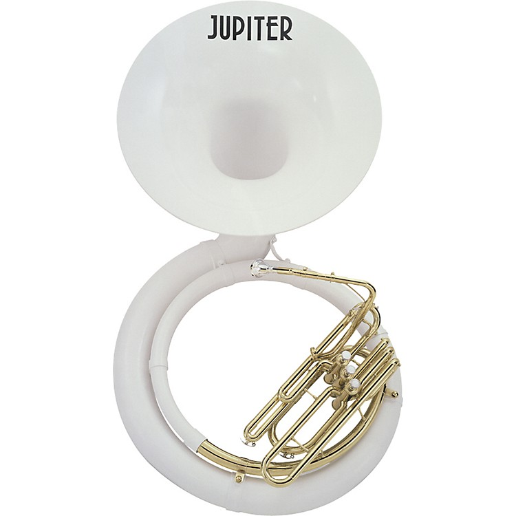Jupiter596L Fiberglass Series BBb Sousaphone596L Lacquer with Hard Case