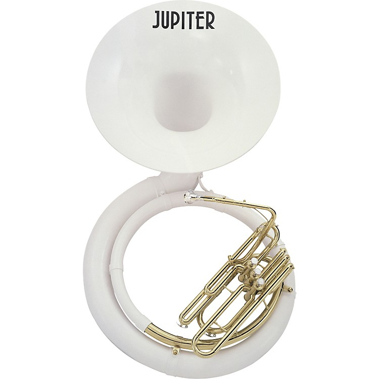 Jupiter 596L Fiberglass Series BBb Sousaphone 596LB Lacquer With Nylon Bag