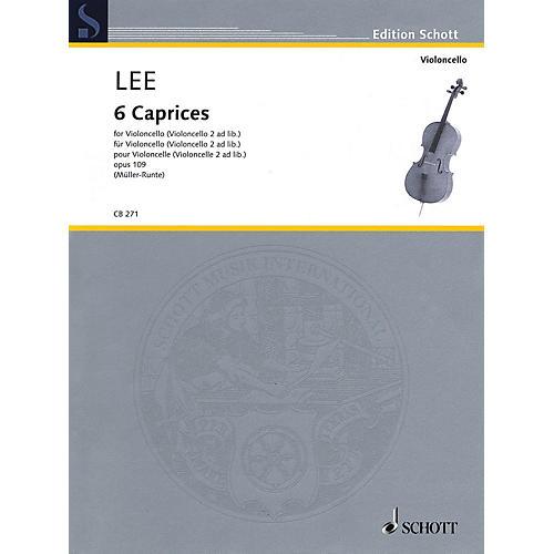 Schott 6 Caprices, Op. 109 (Cello (Cello 2 ad lib.)) String Series-thumbnail