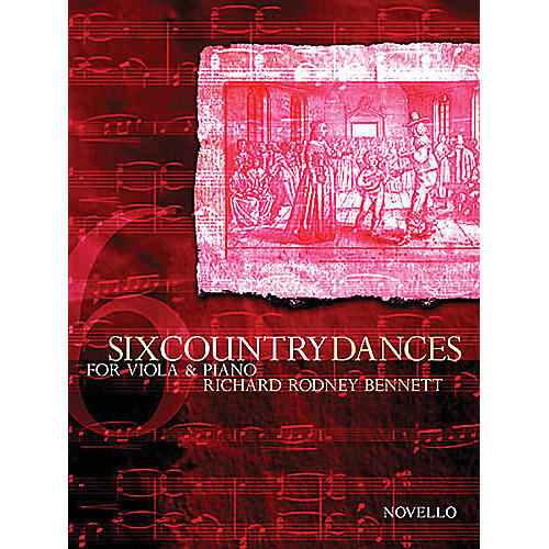 Novello 6 Country Dances (Viola and Piano Accompanimnet) Music Sales America Series