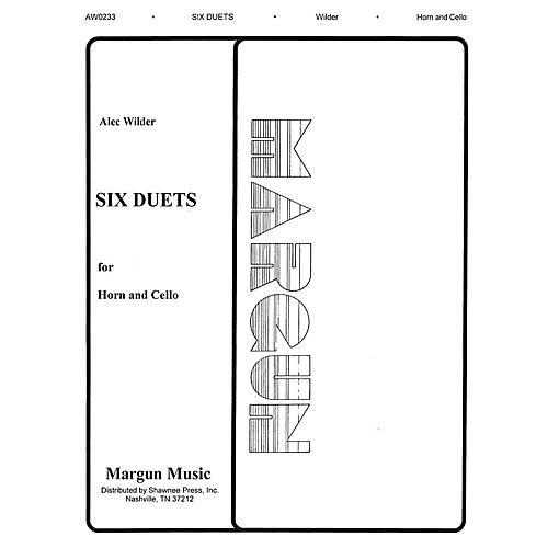 Margun Music 6 Duets for Horn and Cello Shawnee Press Series-thumbnail