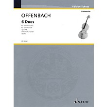 Schott 6 Duos, Op. 49 Vol. 1: Nos. 1-3 (2 Cellos) Schott Series