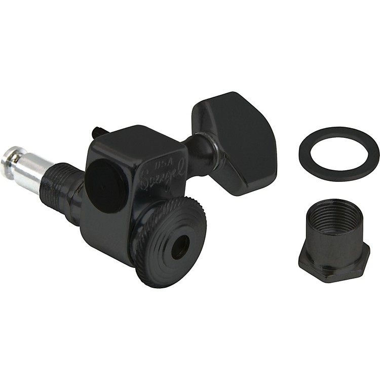 Sperzel 6 In-Line Locking Tuners Black
