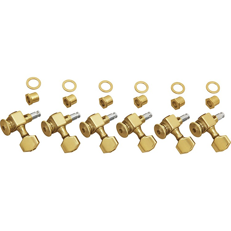 Sperzel 6-In-Line Non-Graduated Tuners Gold
