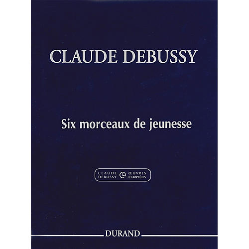 Editions Durand 6 Morceaux De Jeunesse Editions Durand Series Softcover-thumbnail