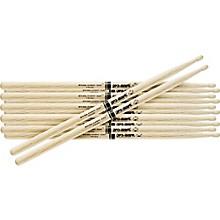 PROMARK 6-Pair Japanese White Oak Drumsticks Nylon Jazz