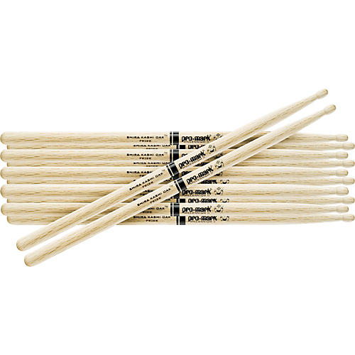 PROMARK 6-Pair Japanese White Oak Drumsticks Wood 747B