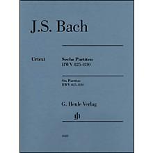 G. Henle Verlag 6 Partitas BWV 825-830 By Bach