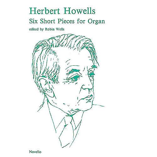 Novello 6 Short Pieces for Organ Music Sales America Series-thumbnail
