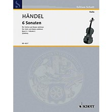 Schott Music 6 Sonatas - Vol. 2 Schott Series Composed by Georg Friedrich Händel