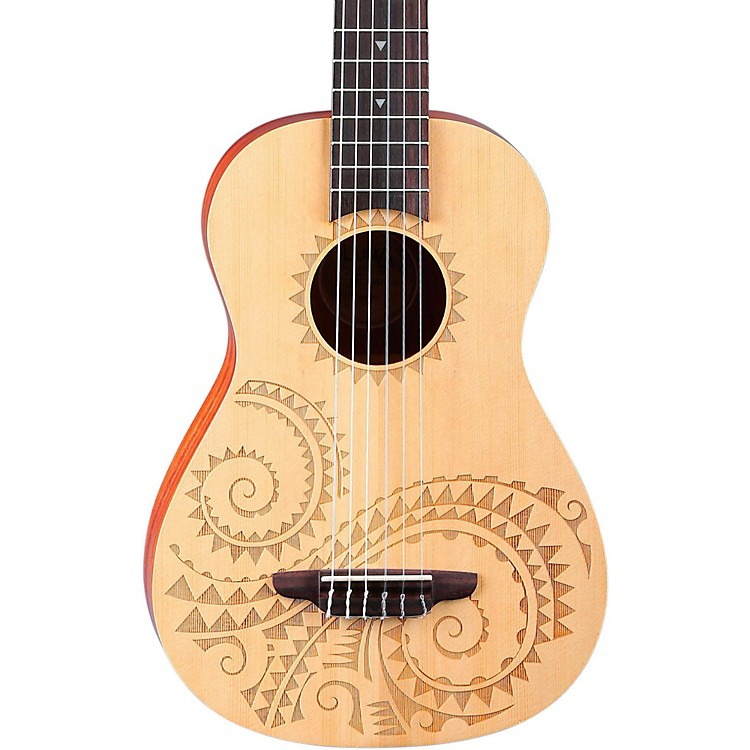 Luna Guitars6-String Baritone UkuleleTattoo