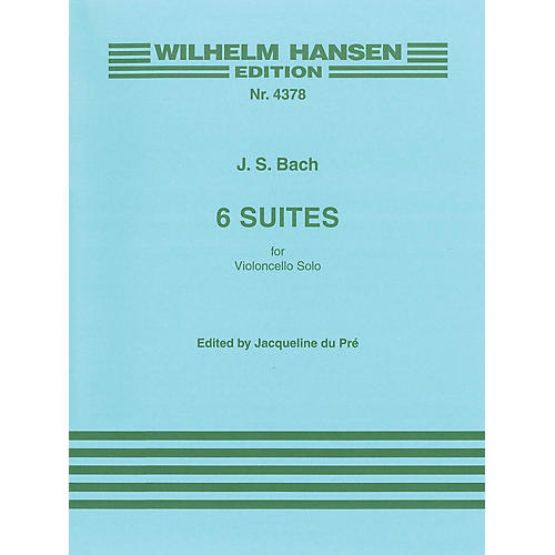 Music Sales 6 Suites for Solo Violoncello Music Sales America Series-thumbnail
