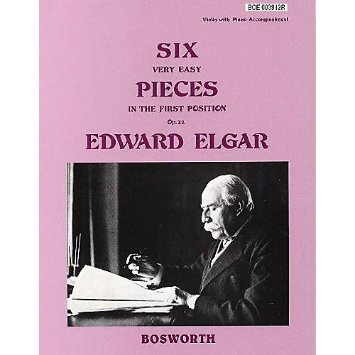 Bosworth 6 Very Easy Pieces for Violin Op. 22 Music Sales America Series-thumbnail