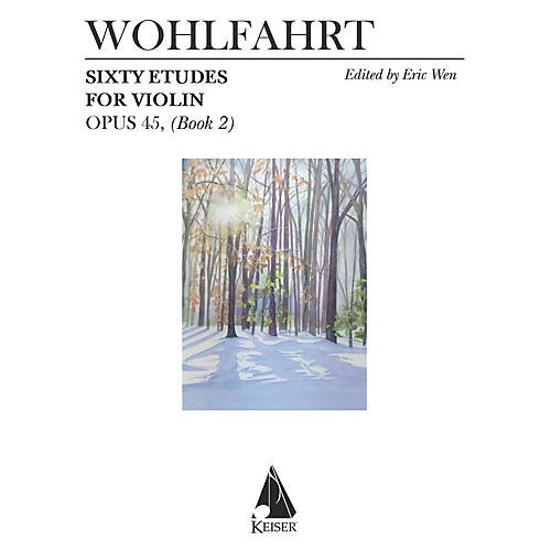 Lauren Keiser Music Publishing 60 Etudes for Violin, Op. 45 (Book 2) LKM Music Series