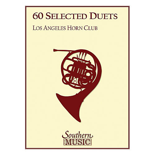 Southern 60 Selected Duets (Horn Duet) Southern Music Series Arranged by Los Angeles Horn Club-thumbnail