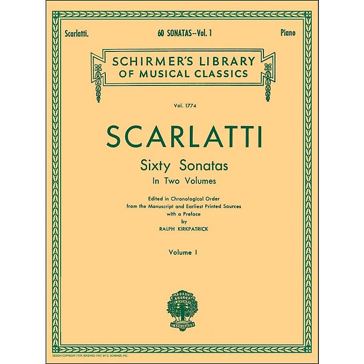 G. Schirmer60 Sonatas Vol 1 Piano Contains Sonatas No 1 - No 30 By Scarlatti