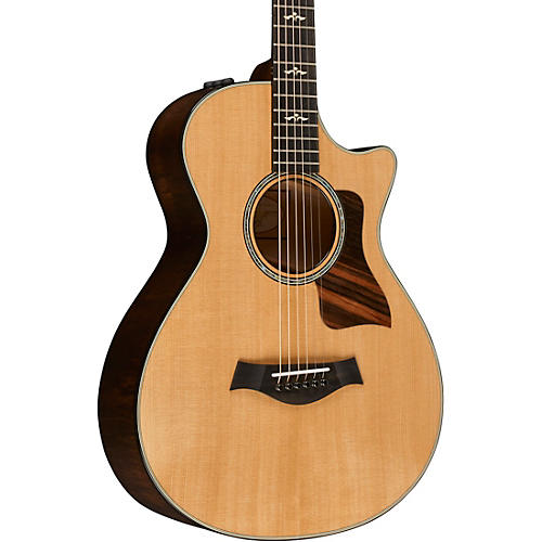 Taylor 600 Series 612ce 12-Fret Grand Concert Acoustic-Electric Guitar Natural