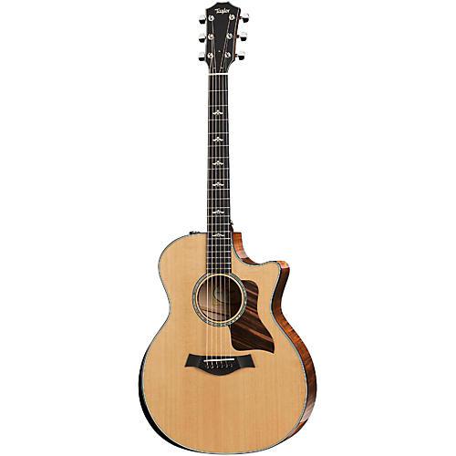 Taylor 600 Series 614ce-LTD Limited Edition Armrest Grand Auditorium Acoustic-Electric Guitar-thumbnail