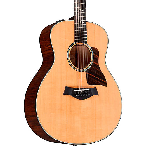 Taylor 600 Series 656e Grand Symphony 12-String Acoustic-Electric Guitar Natural
