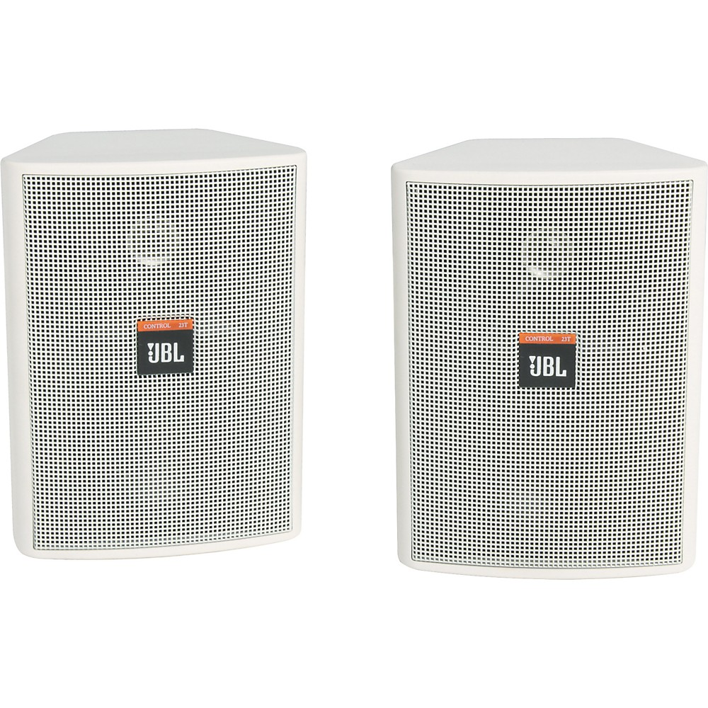 Jbl Control 23T 2 Way 3 1 2 Indoor Outdoor Speaker Pair White