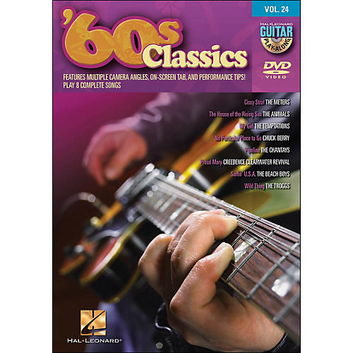 Hal Leonard 60s Classics - Guitar Play-Along DVD Volume 24 (DVD)
