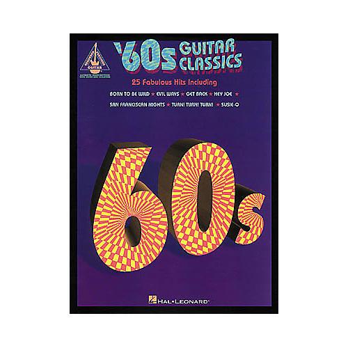 Hal Leonard 60s Classics Guitar Tab Songbook-thumbnail