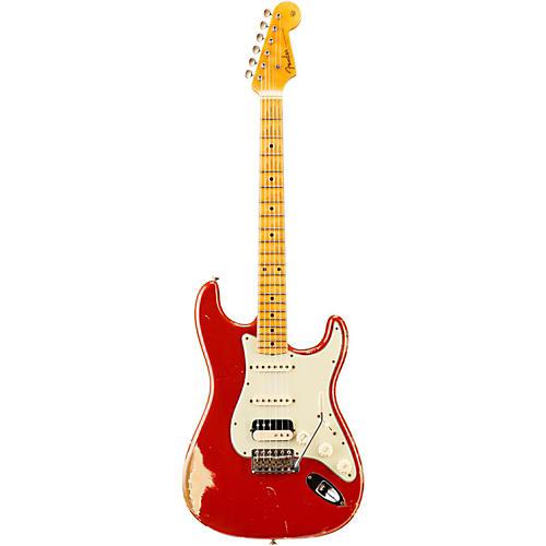 Fender Custom Shop '60s Imperial Arc Stratocaster Maple Fingerboard HSS Masterbuilt by Dale Wilson Dakota Red over Desert Sand