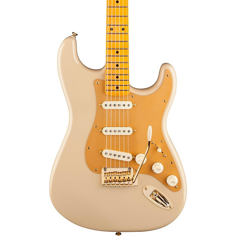 Fender 60th Anniversary Classic Player '50s Stratocaster Electric Guitar Desert Sand Maple Fingerboard