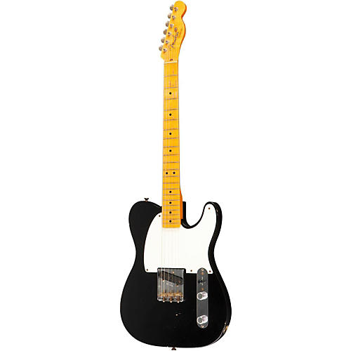 Fender Custom Shop 60th Anniversary Series Esquire 1-Pickup Electric Guitar Black