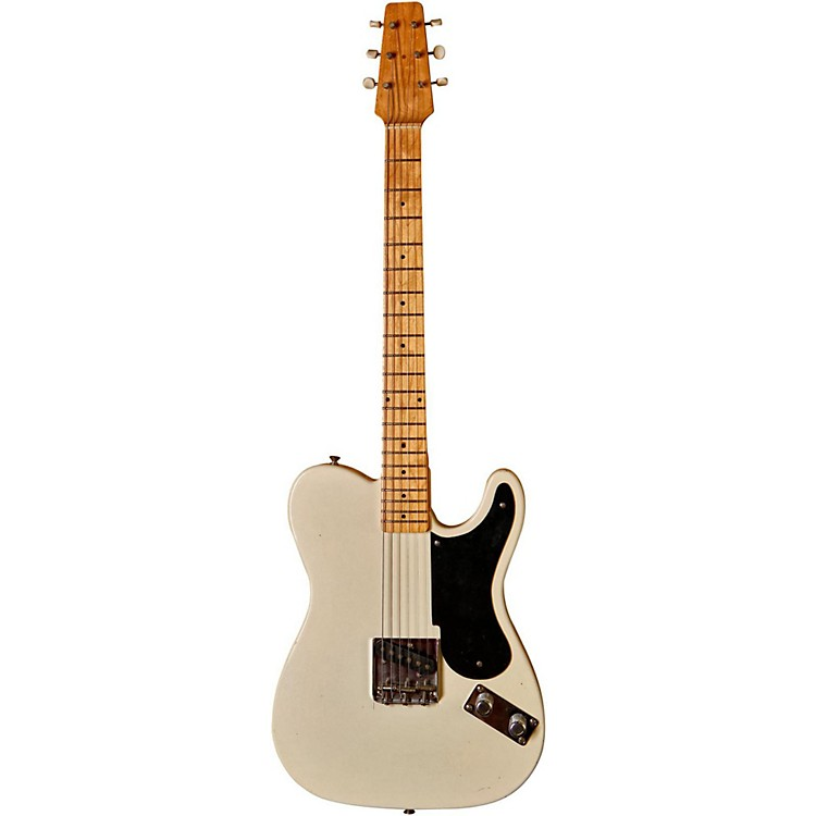 Fender Custom Shop 60th Anniversary Series Snake Head Telecaster Electric Guitar White Blonde