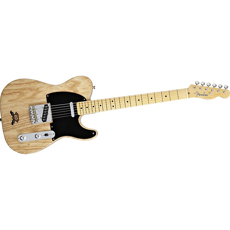 fender 60th anniversary telecaster electric guitar with inlay musician 39 s friend. Black Bedroom Furniture Sets. Home Design Ideas