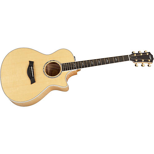 Taylor 612ce-2010 Acoustic-Electric Guitar without Pickguard