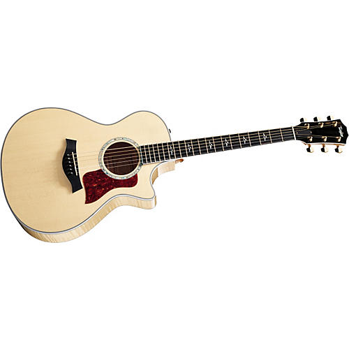 Taylor 612ce Grand Concert Cutaway Acoustic-Electric Guitar (2010 Model)-thumbnail