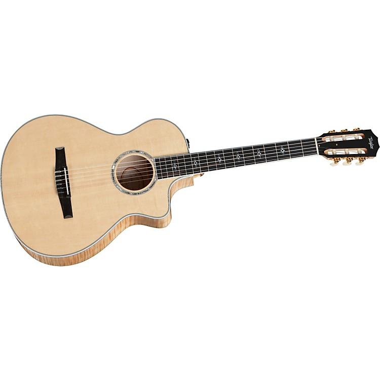 Taylor612ce-L Maple/Spruce Grand Concert Left-Handed Acoustic-Electric Guitar